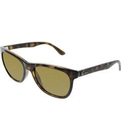 Ray-Ban Men's Polarized Highstreet RB4184-710/83-54 Tortoiseshell Wayfarer Sunglasses