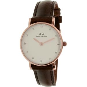 Daniel Wellington Women's Classy Bristol 0903DW Brown Leather Quartz Watch
