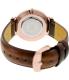Daniel Wellington Women's Bristol 0511DW Bronze Leather Quartz Watch - Back Image Swatch