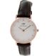 Daniel Wellington Women's Classy York 0902DW Brown Leather Quartz Watch - Main Image Swatch