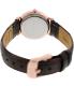 Daniel Wellington Women's Classy York 0902DW Brown Leather Quartz Watch - Back Image Swatch