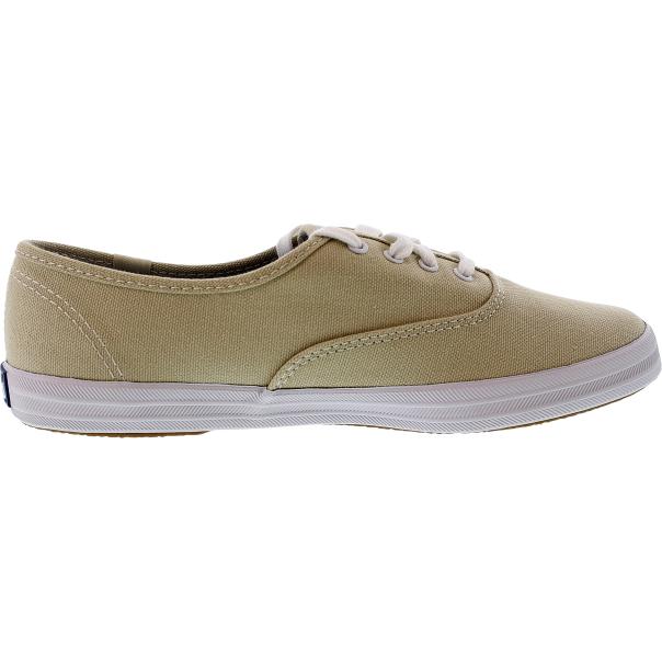 Keds Women s Champion Tennis Shoes - 6M WF34300.STONE.6M - Side Image