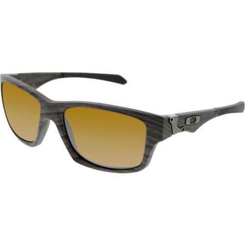 e63ecbc644 ... Woodgrain tungsten Iridium - Oo9135 UPC 700285538150 product image for  Oakley Men s Polarized Jupiter Squared OO9135-07 Grey Rectangle Sunglasses