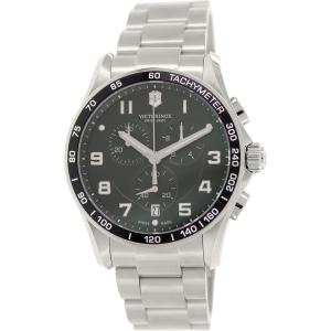 Victorinox Swiss Army Men's Chrono Classic 241650 Silver Stainless-Steel Swiss Chronograph Watch