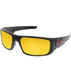 Oakley Men's Mirrored Crankshaft OO9239-11 Black Wrap Sunglasses