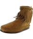 Minnetonka Women's Hi Top Back Zip Boot High-Top Suede Boot - Main Image Swatch