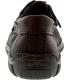 Minnetonka Women's Moosehide Fringed Kilty Ankle-High Leather Flat Shoe - Back Image Swatch