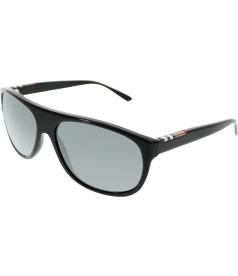 Burberry Women's  BE4143-33966G-58 Black Oval Sunglasses