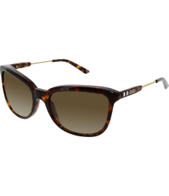 Burberry Women's Gradient  BE4152-334913-57 Tortoiseshell Square Sunglasses