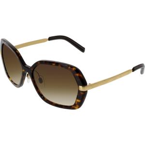 Burberry Women's  BE4153Q-300213-58 Tortoiseshell Square Sunglasses