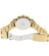Citizen Women's Eco-Drive FB1342-56P Gold Stainless-Steel Eco-Drive Watch - Back Image Swatch