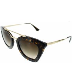 Prada Women's  PR09QS-2AU6S1-49 Silver Cat Eye Sunglasses