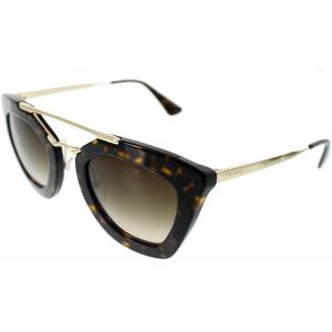 Prada Women's  PR09QS-2AU6S1-49 Gold Cat Eye Sunglasses