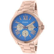 Fossil Women's Cecile AM4556 Rose-Gold Stainless-Steel Quartz Watch