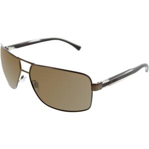 Emporio Armani Men's  EA2001-302073-64 Brown Rectangle Sunglasses