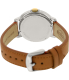 Fossil Women's Chelsey ES3523 Silver Leather Quartz Watch - Back Image Swatch