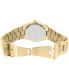 Michael Kors Women's Channing MK5894 Gold Stainless-Steel Quartz Watch - Back Image Swatch