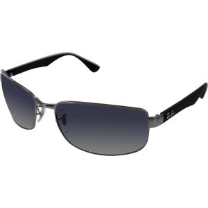 Ray-Ban Men's Polarized  RB3478-004/78-63 Grey Rectangle Sunglasses
