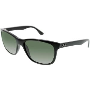 Ray-Ban Men's Anti-reflective  RB4181-601-57 Black Wayfarer Sunglasses