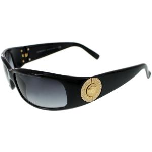 Versace Women's Gradient  VE4044B-870/8G-60 Black Rectangle Sunglasses