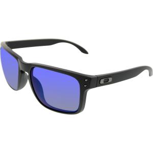 Oakley Men's Polarized Holbrook OO9102-52 Black Square Sunglasses