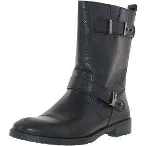 Alfani Women's Sascha High-Top Pleather Boot