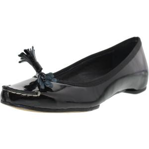 Donald J Pliner Women's Becan-26 Ankle-High Vinyl Flat Shoe