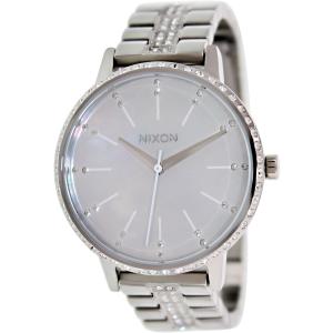 Nixon Women's Kensington A099710 Silver Stainless-Steel Quartz Watch