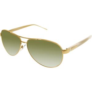 Ralph Lauren Women's Gradient  RA4004-101/13-59 Gold Aviator Sunglasses