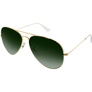 Ray-Ban Men's Aviator RB3026-L2846-62 Gold Aviator Sunglasses