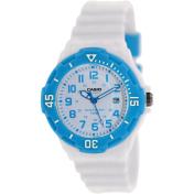 Casio Women's LRW200H-2BV White Resin Quartz Watch