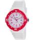 Casio Women's LRW200H-4BV White Resin Analog Quartz Watch - Main Image Swatch