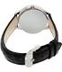 Casio Women's LTPE102L-1AV Black Leather Quartz Watch - Back Image Swatch