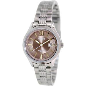 Casio Women's LTPE103D-5AV Silver Stainless-Steel Quartz Watch