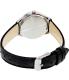 Casio Women's LTPE104L-1AV Black Leather Quartz Watch - Back Image Swatch