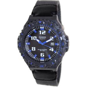 Casio Men's MRWS300HB-8BV Black Nylon Analog Quartz Watch