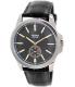 Casio Men's MTPE101L-1AV Black Leather Quartz Watch - Main Image Swatch
