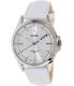 Casio Men's MTPE104L-7AV White Leather Quartz Watch - Main Image Swatch