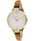 Fossil Women's Georgia ES3565 Brown Leather Quartz Watch - Main Image Swatch