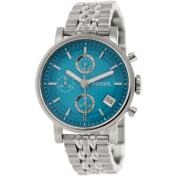 Fossil Women's Original Boyfriend ES3571 Blue Stainless-Steel Quartz Watch