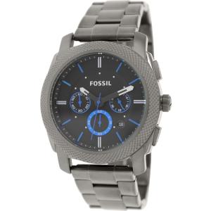 Fossil Men's Machine FS4931 Grey Stainless-Steel Quartz Watch