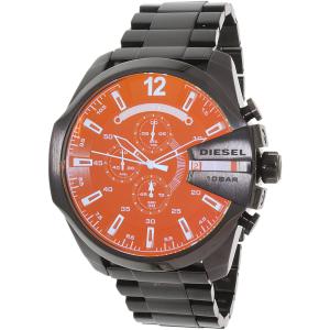 Diesel Men's Mega Chief DZ4318 Black Stainless-Steel Automatic Watch