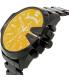 Diesel Men's Mega Chief DZ4318 Black Stainless-Steel Automatic Watch - Side Image Swatch