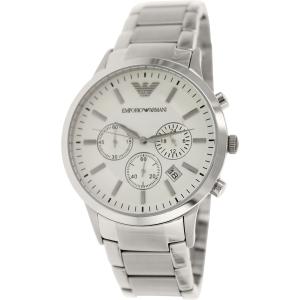 Emporio Armani Men's Sportivo AR2458 Silver Stainless-Steel Quartz Watch
