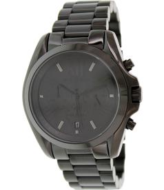 Michael Kors Men's Bradshaw MK5550 Black Stainless-Steel Quartz Watch