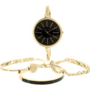Anne Klein Women's AK-1470GBST Gold Stainless-Steel Quartz Watch
