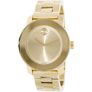 Movado Women's Bold 3600085 Gold Stainless-Steel Swiss Quartz Watch