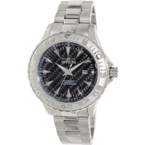 Invicta Men's Pro Diver 12554 Silver Stainless-Steel Quartz Watch