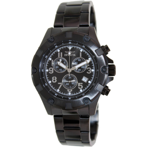 Invicta Men's Speciality 13623 Black Stainless-Steel Swiss Chronograph Watch