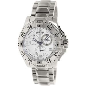 Invicta Men's Excursion 16101 Silver Stainless-Steel Swiss Quartz Watch